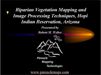 View a powerpoint presentation about the Hopi Riparian project.